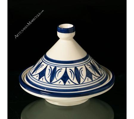 Tajine decorativo azul