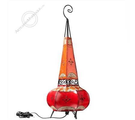 Lámpara 0,80 mt de color rojo