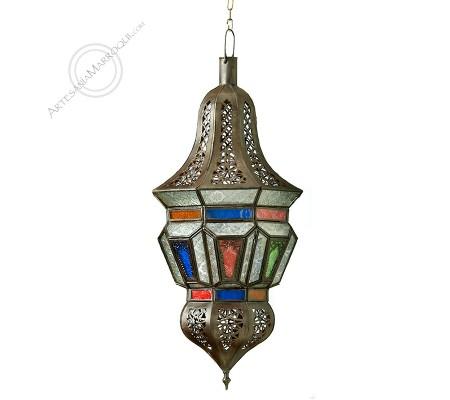 Multicolored Glass ALHOCEIMA Lamp