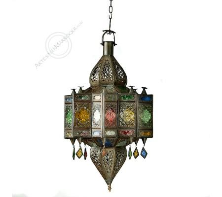Lámpara Farfara de color