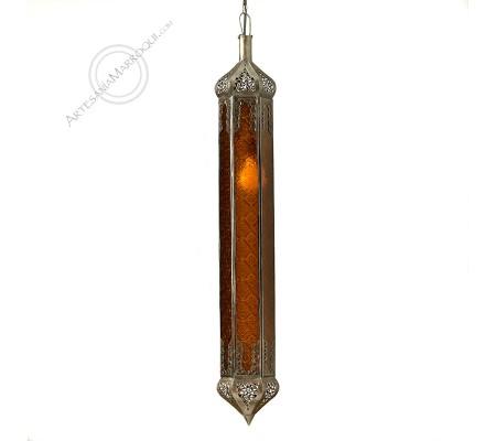 Lámpara Marrakech mediana naranja