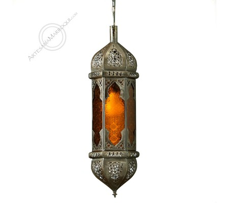 Small Orange MARRAKECH Lamp