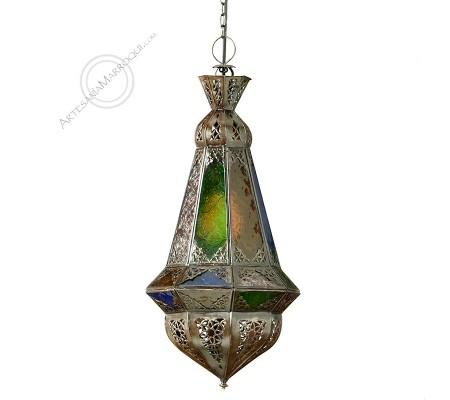 MERZOUGA Colored Glass Lamp