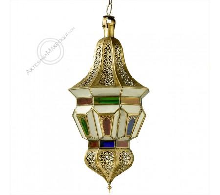 Alhoceima copper lamp
