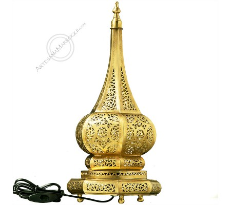 Lámpara 43 cm oriental