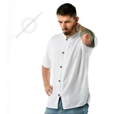 Camisa manga corta con botones