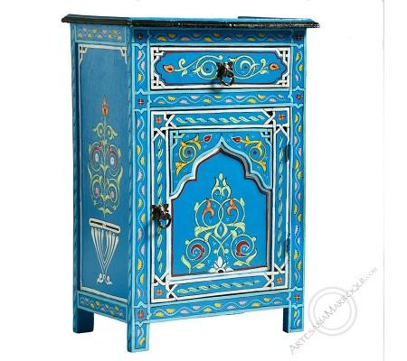 Mesa de noche azul