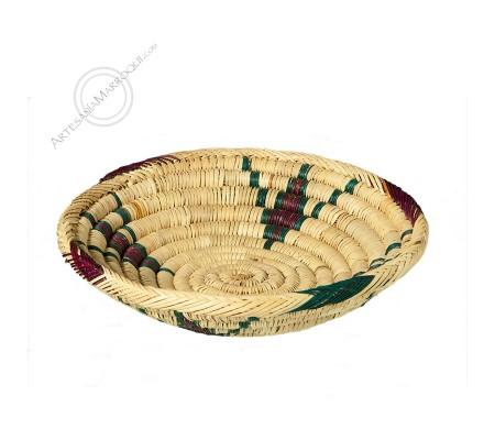 Violet drawings bread basket