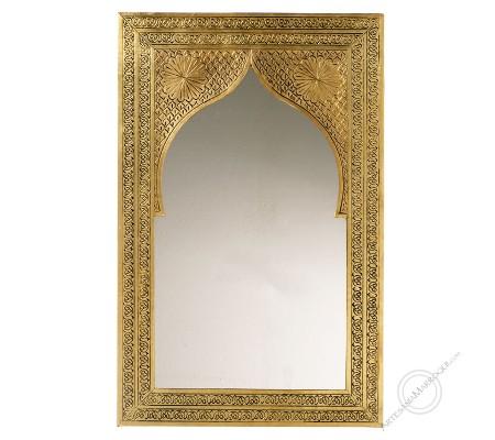 Arabic mirror 045x070 cm flat copper