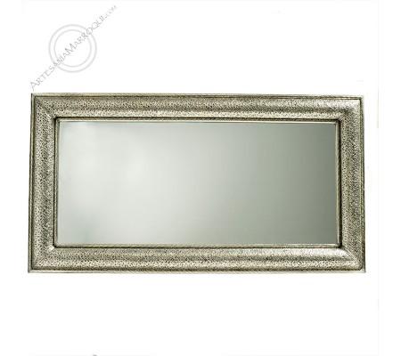 Arabic mirror 080x150 cm silver