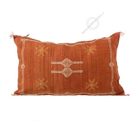 Rectangular tile color sabra cushion