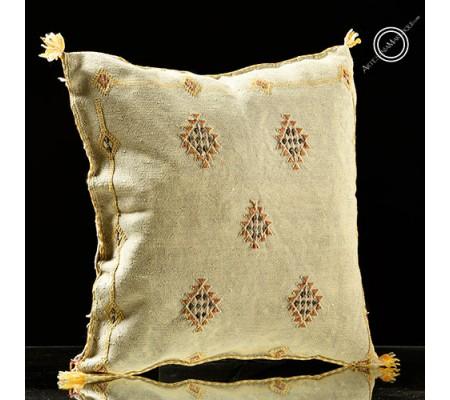 Pale gray sabra cushion