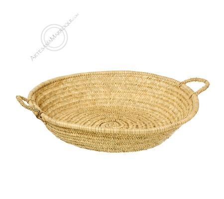 Large midouna bread basket with handles