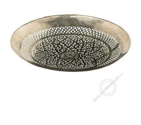 Flat silver ceiling 50 cm
