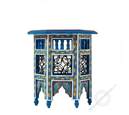 Mesa mini azul