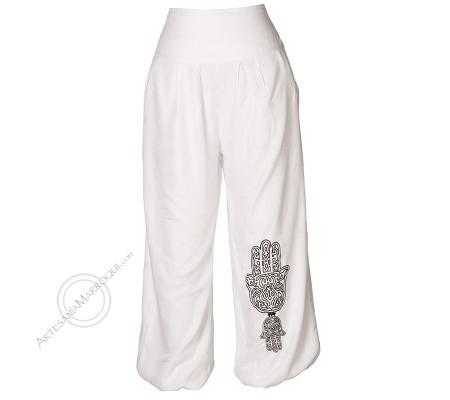 Pantalón Khemissa blanco
