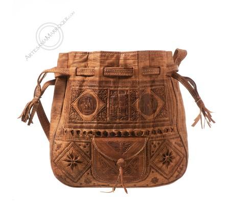 Leather bag Beldi