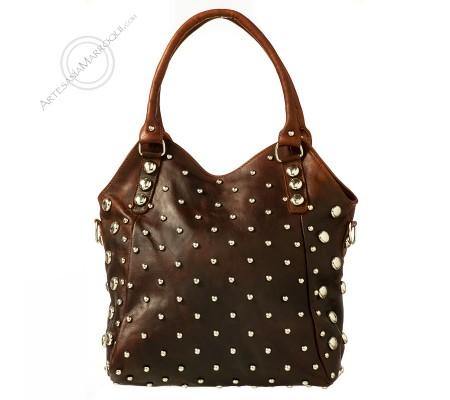 Leather bag Bab Doukala