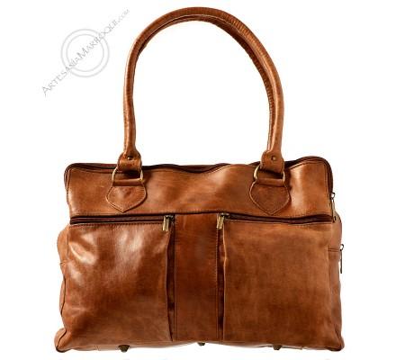 Leather bag Fatima