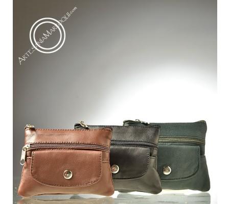 Four-pocket coin purse