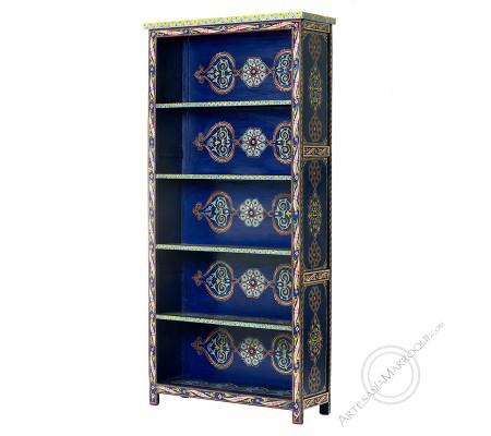 Librería azul 185 cm