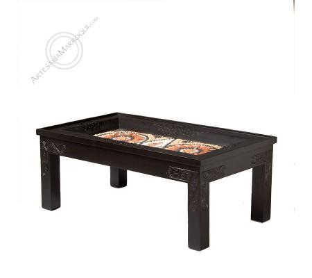 Mesa rectangular de mosaico