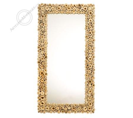 Espejo árabe 060115 cm de leña
