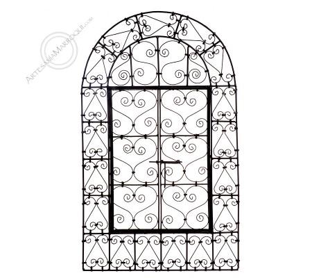 Arabic mirror 060x100 cm forged window