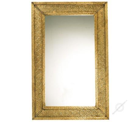 Espejo árabe 065x100 cm cobre