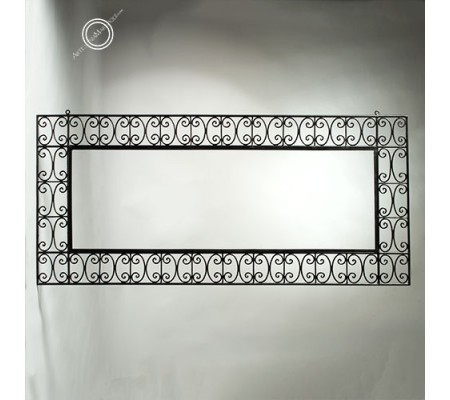 Espejo árabe 075 x 160 cm horizontal de forja