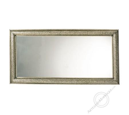 Arabic mirror 100x200 cm silver