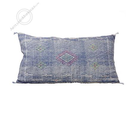 Big blue sabra cushion