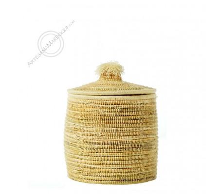 Small esparto basket