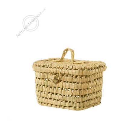 Small palm basket