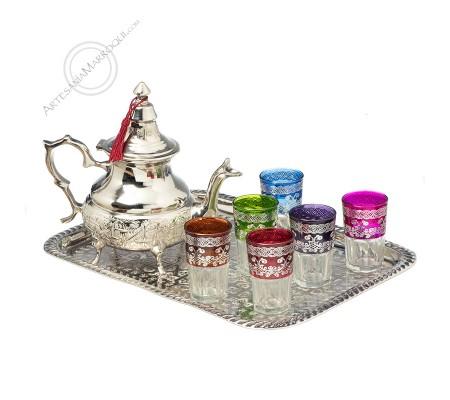 Large tea set
