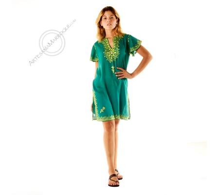 Camisa larga verde