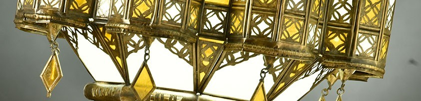 Lámparas Árabes | Focos Marroquís | artesania-marroqui.com