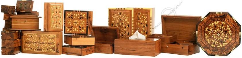 Thuya Wood Boxes