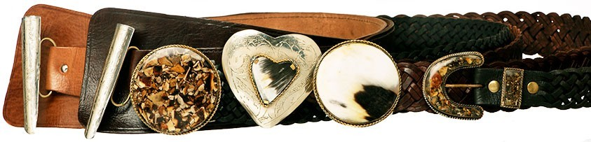 Leather Belts Made in Morocco